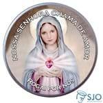 Latinha da Nossa Senhora da Chama do Amor | SJO Artigos Religiosos