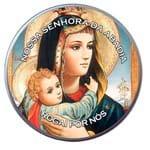 Latinha de Nossa Senhora da Abadia | SJO Artigos Religiosos