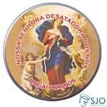 Latinha de Nossa Senhora Desatadora dos Nós | SJO Artigos Religiosos