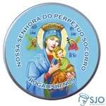 Latinha de Nossa Senhora do Perpétuo Socorro | SJO Artigos Religiosos