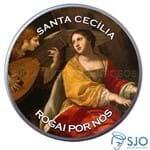 Latinha de Santa Cecília | SJO Artigos Religiosos
