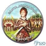 Latinha de Santa Joana D'Arc | SJO Artigos Religiosos