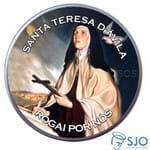 Latinha de Santa Teresa D'Ávila | SJO Artigos Religiosos