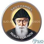 Latinha de São Charbel | SJO Artigos Religiosos