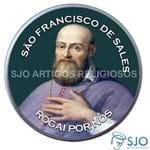 Latinha de São Francisco de Sales | SJO Artigos Religiosos