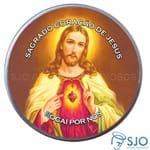 Latinha do Sagrado Coração de Jesus - Mod. 02 | SJO Artigos Religiosos