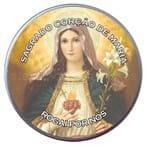Latinha do Sagrado Coração de Maria - Mod. 2 | SJO Artigos Religiosos