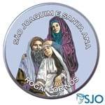 Latinha São Joaquim e Santa Ana   SJO Artigos Religiosos