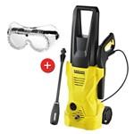 Lavadora Alta Pressão K2 220v Karcher + Óculos Proteção