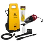 Lavadora de Alta Pressão Electrolux Power Wash Plus EWS31 Kit Completo