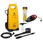 Lavadora de Alta Pressão Electrolux Powerwash Ews30 Kit Completo 220v