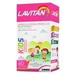 Lavitan Kids Comprimidos Mastigáveis Sabor Tutti Frutti