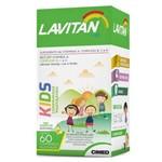 Lavitan Kids Mastigavel 60 Comp Laranja Uva Limao