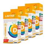 Lavitan Kit 4x Vitamina D 30ml Limao