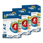 Lavitan Kit 3x Mais A-z 90 Comp