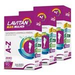 Lavitan Kit 3x Mais A-z Mulher 90 Comp