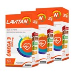 Lavitan Kit 3x Omega 3 1000mg 60 Caps