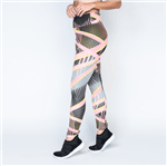 Legging Fitness Poliéster Colored Lines LG1049