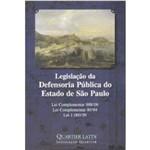 Legislação da Defensoria Pública do Estado de São Paulo - Legislação Quartier