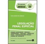 Legislacao Penal Especial - Vol 24 - Tomo 1 - Sinopses Juridicas - Saraiva