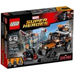Lego 76050- Super Heroes- Capitão América Guerra Civil-Marvel
