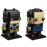 LEGO Brickheadz - Batman Tático e Superman