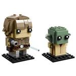LEGO Brickheadz - Luke Skywalker e Yoda