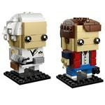 LEGO Brickheadz - Marty Mcfly e Doutor Brown