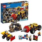 LEGO City Perfuradora Pesada de Mineração