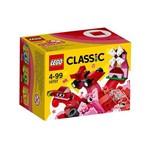 Lego Classic Caixa de Criatividade Vermelha 55 Peças 10707