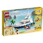 LEGO Creator - Modelo 3 em 1: um Belo Dia de Praia