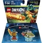 Lego Dimensions Chima - Fun Pack - 71223 - 45 Peças