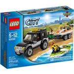 LEGO - Jipe com Moto Aquática