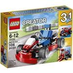 LEGO - Kart Vermelho