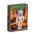 Lego Minecraft - Esqueleto Gigante e Cubo de Magma - 21150