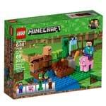 Lego Minecraft - Fazenda dos Meloes