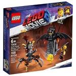 Lego Movie 2 Batman e Barba de Ferro Prontos para Combate 70836