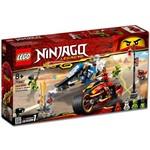 Lego Ninjago a Motocicleta de Kai e o Jet Ski de Zane 70667