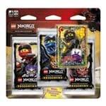 Lego Ninjago Cartas - Blister Triplo com 16 Cards - Cole X Ultra Violet - Primeira Coleção - COPAG