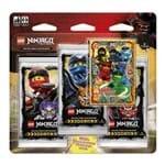 Lego Ninjago Cartas - Blister Triplo com 16 Cards - Equipe Mestre Spinjitzu - Primeira Coleção - COPAG