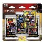 Lego Ninjago Cartas - Blister Triplo com 16 Cards - Filhos de Garmadon - Primeira Coleção - COPAG