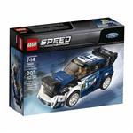 Lego Speed Champions Ford Fiesta M Sport Wrc 75885 203 Peças