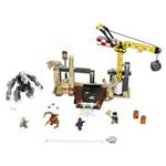 Lego Super Heroes - Homem Aranha X Sandman X Rhino - 186 Peças