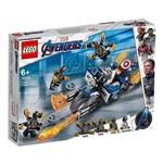 Lego Super Heroes Marvel 76123 Capitão América: Ataque Outriders - Lego