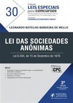 Leis Especiais para Concursos - V.30 - Lei das Sociedades Anônimas - S/A (2017)