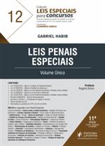 Leis Especiais para Concursos - V.12 - Leis Penais Especiais - Volume Único (2019)