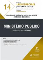 Leis Especiais para Concursos - V.14 - LONMP - Ministério Público (2018)