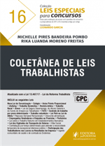 Leis Especiais para Concursos - V.16 - Coletânea de Leis Trabalhistas (2017)