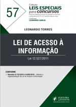 Leis Especiais para Concursos - V.57 - Lei de Acesso à Informação (2019)