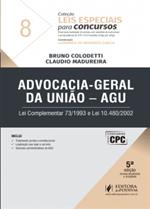 Leis Especiais para Concursos - V.8 - AGU (2017)